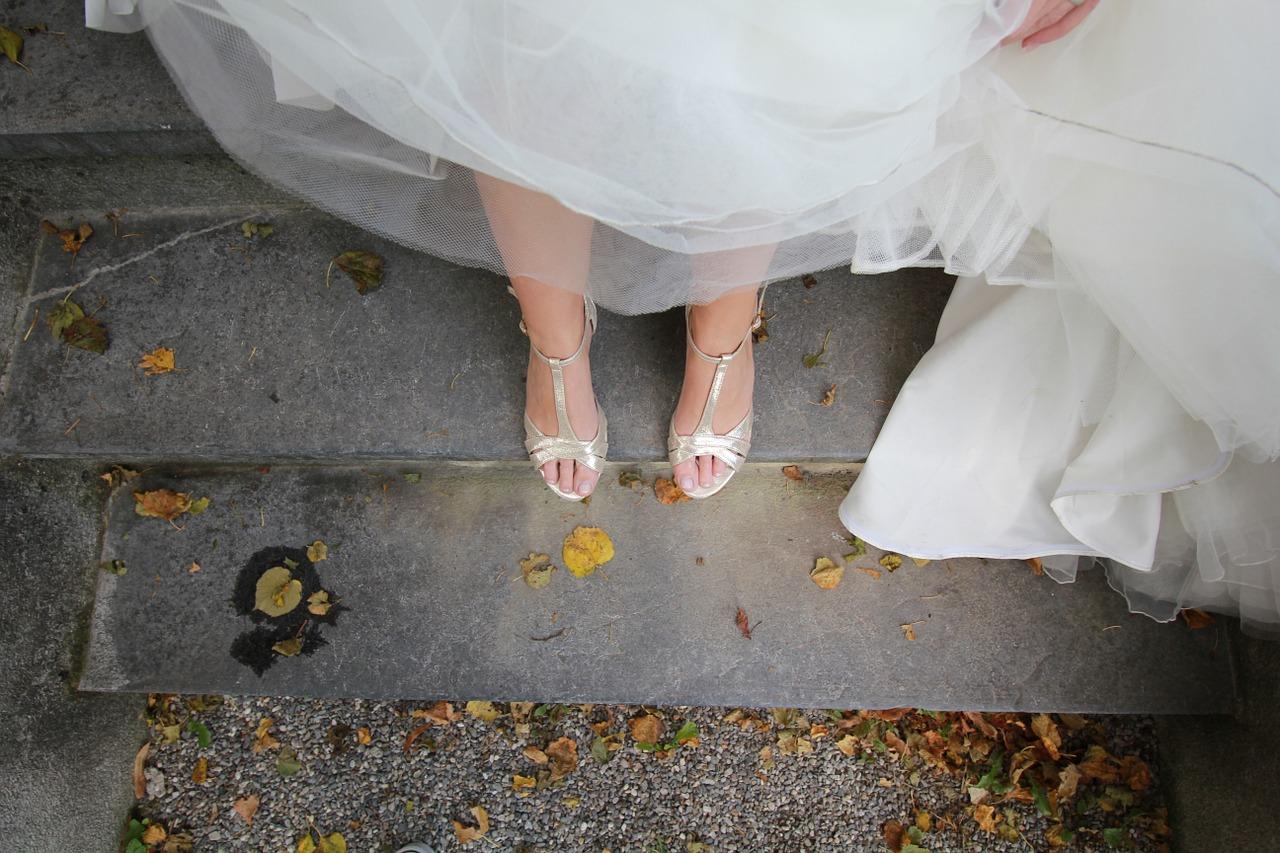 5 règles d'or pour choisir la parfaite chaussure de la mariée
